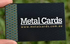 Steel Business Cards Black Metal Business Cards Metal Cards Australia