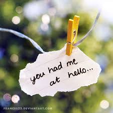 You Had Me At Hello Quote Simple You Had Me At Hello By Frances48 On DeviantART
