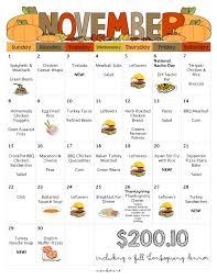 Thanksgiving Grocery List Template November Menu Free Printable Grocery List Thanksgiving
