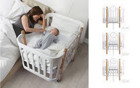 Приставная кроватка <b>люлька</b> трансформер <b>Happy Baby MOMMY</b> ...