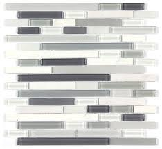 12 x12 stone and co mosaic glass and stone blend random strip mosaic tile contemporary mosaic tile by all marble tiles