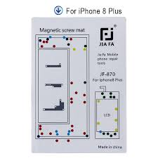 Professional Magnetic Screw Mat For Iphone 7 7plus 8 8plus Xs Guide Pad Tools