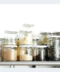 glass pantry storage containers