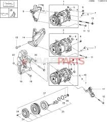 Ac pressor parts diagram awesome saab o ring genuine saab parts from esaabparts