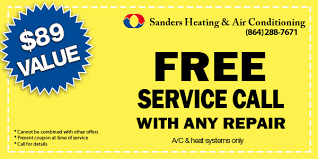 Free Photo Service Coupons Sanders Heating Air Conditioning Hvac Repair