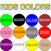 colors for kids. Perfect Kids Kids Colors Tap And Learn Throughout For E