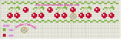 free cherry cross stitch patterns part one embroidery and arts