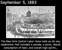 「The Very First Labor Day  September 5, 1882」の画像検索結果