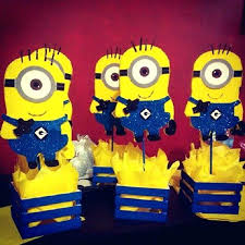 Minion Decorations Best Centerpieces Ideas On Party Interior Design New  Albany Birthday Invitations Parties