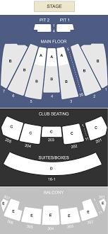 Comerica Theatre Phoenix Az Seating Chart Stage