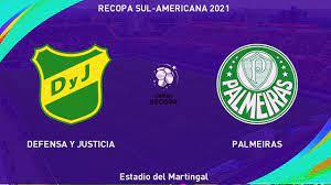 IMAGENS] Defensa y Justicia x Palmeiras - Recopa Sul Americana 2021 -  YouTube