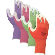 image is loading showa atlas nitrile coated garden glove