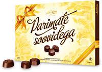 <b>Набор шоколадных конфет</b> KALEV Parimaid soove – купить в ...