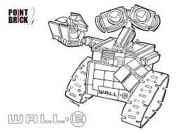 Disegni Da Colorare Lego Ghostbusters E Wall E Disney Wall E