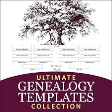 Genealogy Form Templates Family Tree Template For Kids Fir Blank Genealogy Forms