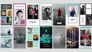 After Effects Story Book Template Instagram Stories Minimal Pack After Effects Commercial