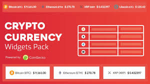 Cryptocurrency Widgets Pack Wordpress Plugin Wordpress Org