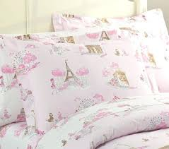 paris sheets sets duvet cover pottery barn kids pertaining to pink plans paris duvet cover south