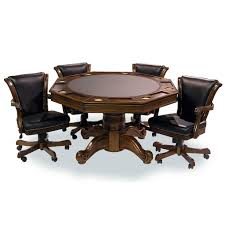 Game Table And Chairs Set Executive Game Table Sets With 4 Chairs