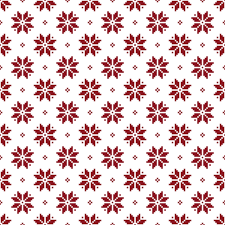 Christmas Pattern Beauteous Simple Christmas Pattern Seamless Vectors 48 Free Download