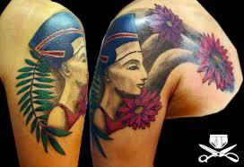 Nefertiti Tattoo Hautedraws