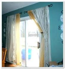 s curtains over sliding glass door draw ds doors