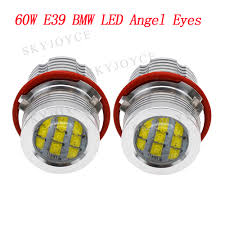 Us 35 88 15 Off 60w B M W E39 Led Angel Eyes Led Halo Ring Drl White Yellow Red Blue Led Lights For E39 E63 E65 E53 E83 E87 E60 Led Marker Kit In