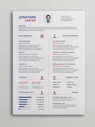Resume Template Modern Fascinating Modern Resume Cv Template Curriculum Vitae Pinterest Modern Resume