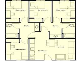 4 Bedroom House Designs Simple Design