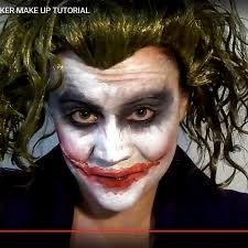 how to create a face painting why so serious dark knightu0027s joker make up sc 1 st cut out keep