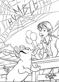 Small Picture Wilber Fern at the Fair Coloring Pages Charlottes Web