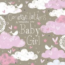 Congratulations On A New Baby Girl
