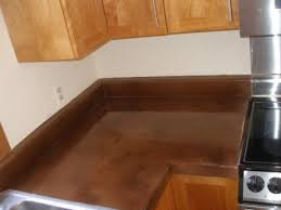 how to apply concrete over formica