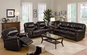 sofa enchanting leather recliner sofa set leather recliner sofa