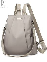 GustaveDesign Women <b>Backpack Waterproof Oxford Cloth</b> Anti-theft ...