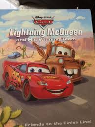 collector disney pixar cars mater s best friend with lightning mcqueen book