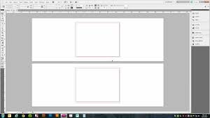 Setting Up A Trifold Brochure In Adobe Indesign Cs5
