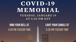 It's heartbreaking for the patients who are sick. Tucson To Participate In National Moment Of Unity To Honor Lives Lost To Covid 19