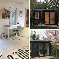 summer house office. Contemporary Office This Stylish Summerhouse Makes A Stunning Home Office For Any Garden Paint  The Exterior Of Your Small Summer House In Black Chic Look On Summer House Office R