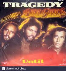 BEE GEES Tragedy Until 7 Single - Vintage Vinyl Record Cover Stock Photo -  Alamy