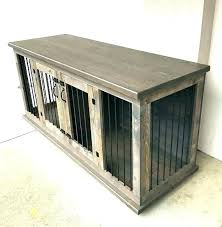 dog crates as furniture.  Crates Double Dog Crate Furniture Crates Custom Kennel Wooden To Dog Crates As Furniture