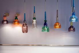 Hand blown lighting Teal Table Handblown Murano Glass Led Lamps Flauti Shop Nectar Mesmerizing World Of Handblown Glass Lamps