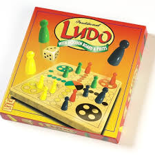 Wooden Ludo Board Game Wooden Ludo Paul Lamond Games 49