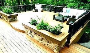 Backyard Deck Design Unique Decorating