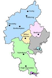 the diocese Bedfordshire On Map map of diocese bedfordshire on sunday newspaper