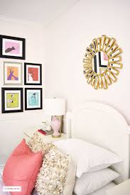 bed room pink.  Pink A Chic Modern Girlu0027s Bedroom Featuring Blush Pink Walls Coral And Brass  Accessories  Inside Bed Room Pink