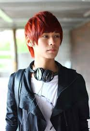 Asian Hair Style Guys pictures of short red korean hairstyle for young guys 2652 by stevesalt.us