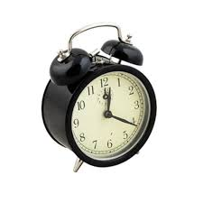 blk alarm clock bells on top y