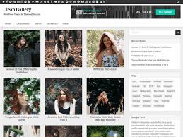 Wordpress Photo Gallery Theme Download Free Clean Gallery Wordpress Theme Justfreewpthemes