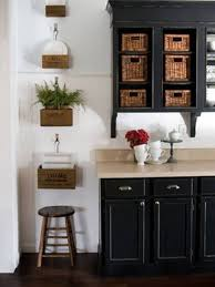 Distressed Kitchen Furniture Furniture Suave Distressed Black Kitchen Cabinets Distressed